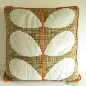 Orla Kiely House Throw Pillow Floral Petal